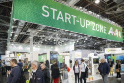 People at the START-UP ZONE of A+A