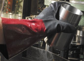 Gloves with this coating require from 34-69% less grip force
