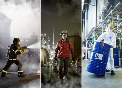 Photo: DuPont At this year's A+A in Düsseldorf DuPont will present new developments in its chemical and heat and flame protective clothing portfolios. Among the highlights will be an innovative range of Nomex® fabrics addressing multiple hazards.