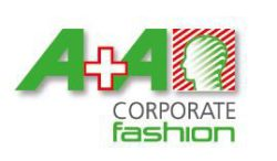 Logo: A+A Corporate Fashion