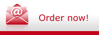 "Graphic of an envelope with stroke ""Order now!"""